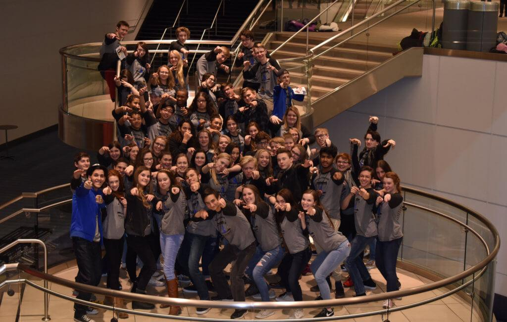 Troupe #5996 Excels at Colorado's Thespian Conference