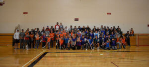 Grandview Boys' Lacrosse Holds District's First Unified Lacrosse Clinic
