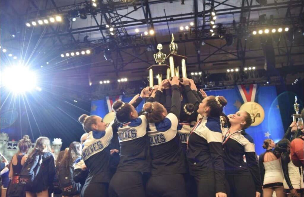 Grandview+Poms+and+Cheer+Compete+at+Nationals