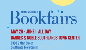 Grandview Summer Reading Book Fair at Barnes and Noble Southlands